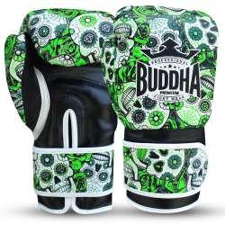 Luvas kick boxing Buddha mexican (verde)