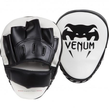 Luva Venum Light gelo / modelo preto