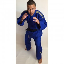 Judogui Adidas Champion II azul IJF 2015