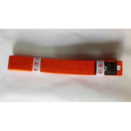 Cinto Kamikaze laranja de artes marciais