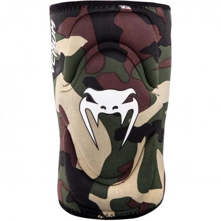 Venum Kontact Gel / Lycra Knee Brace floresta camo