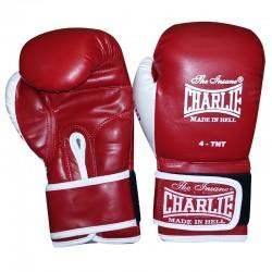Luvas boxe Charlie crianças bat kid (vermelhas)