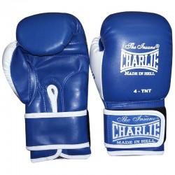Luvas boxe Charlie crianças bat kid (azul)