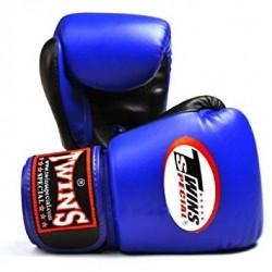 Luvas boxe Twins Bgvl 3 azul-preto