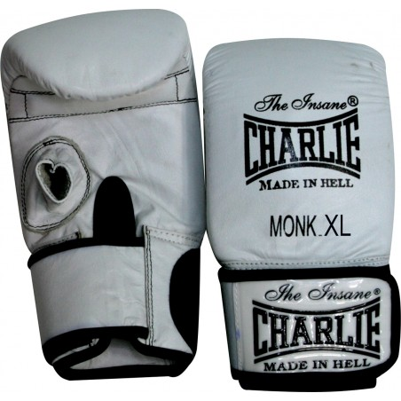Luvas de saco Charlie Monk brancas