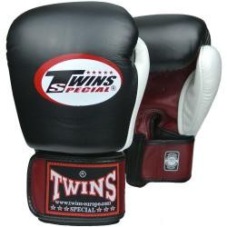Luvas de boxe Twins Bgvl 4 vermelho/preto/branco
