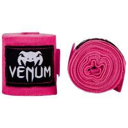 Bandas de boxe crianças  Venum Kontact rosa 2.5m