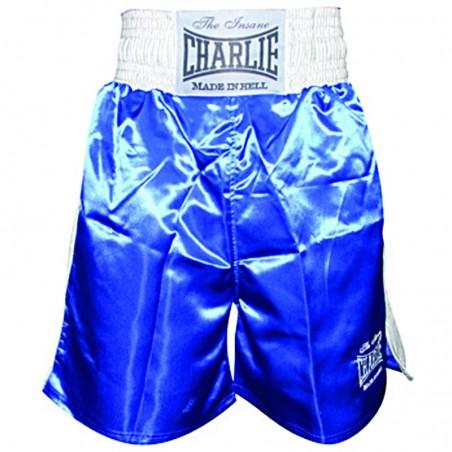Shorts de boxe Charlie X azul