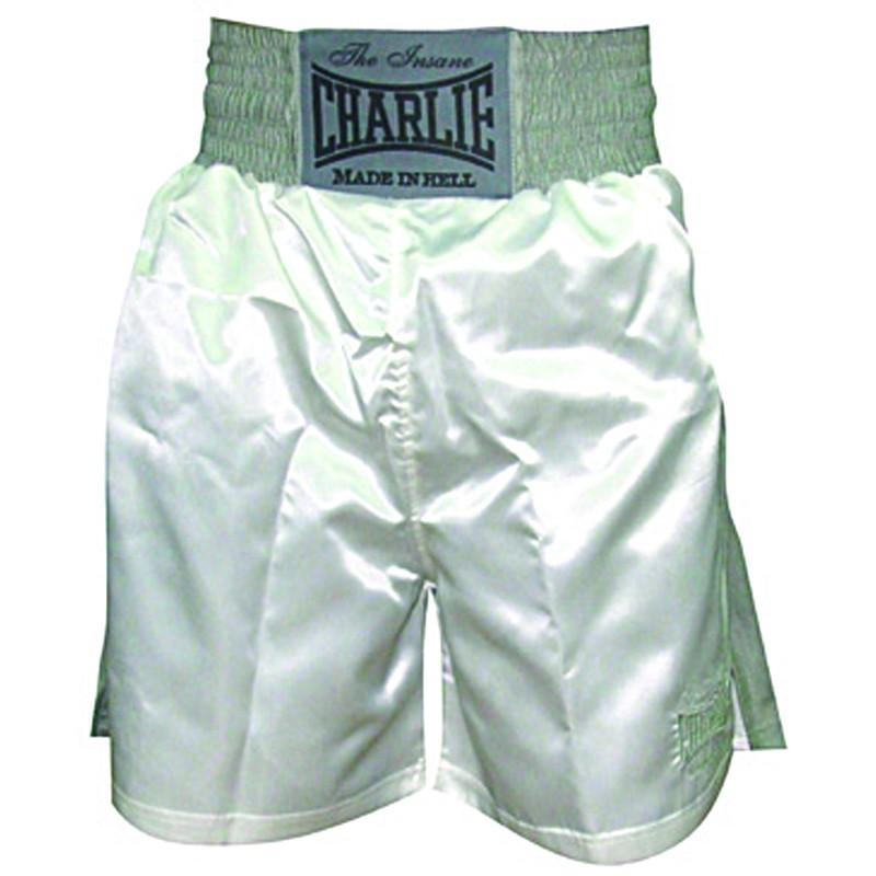 Shorts de boxe Charlie X branco