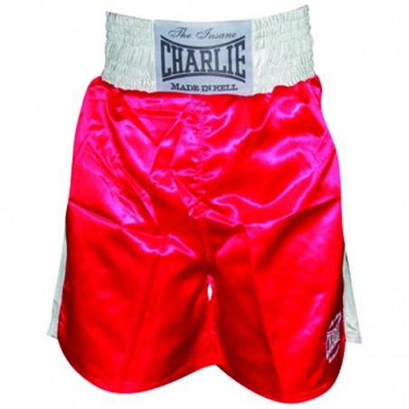 Shorts de Boxe Charlie X vermelho