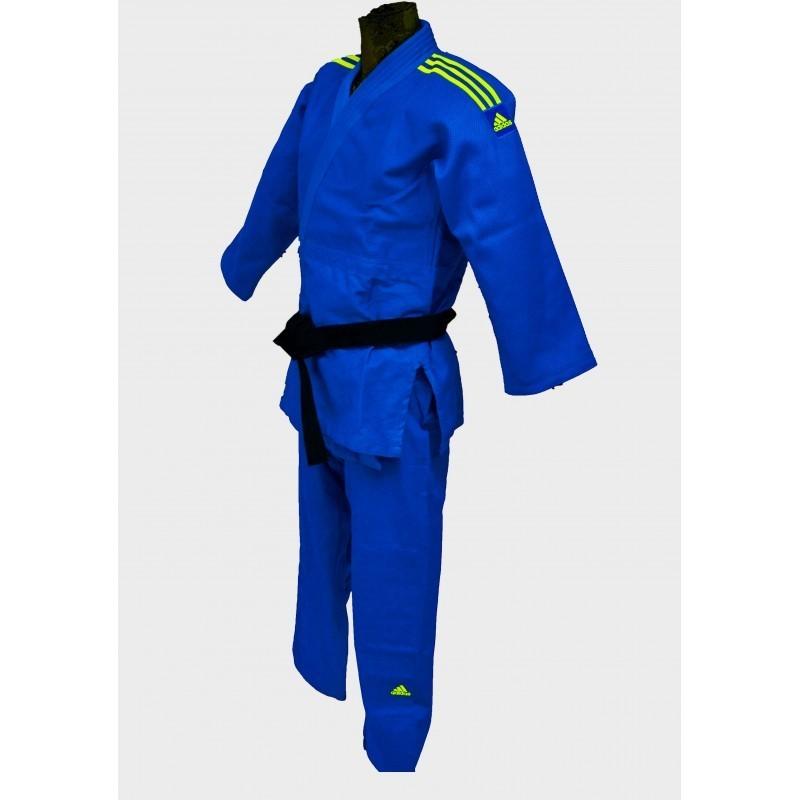 Judogi Adidas Contest azul