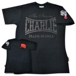 T shirt Charlie preta
