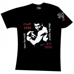 T-shirt  Charlie Ali 1942 preta