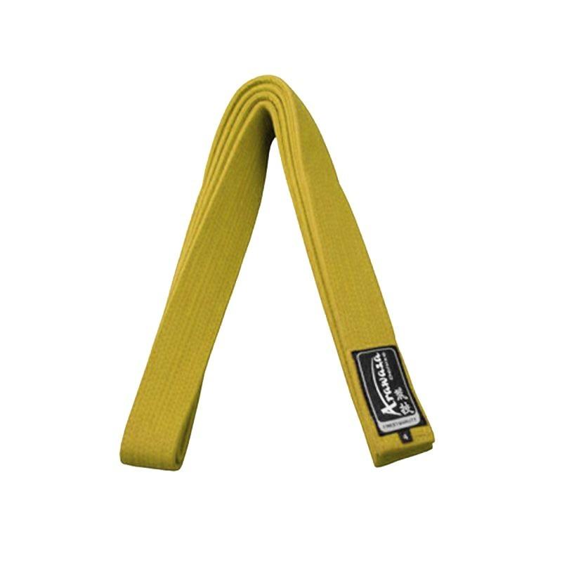Cinto Karate Arawaza amarelo| Roupa Karate| Loja online|Loja de Karate
