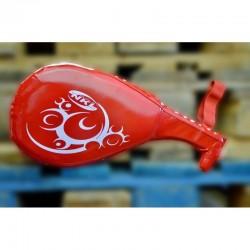 Luvas de taekwondo dupla NKL vermelho