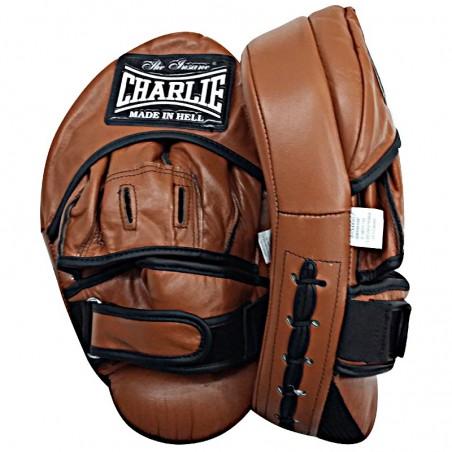 Plastrons de boxe Charlie Hybrid curvado