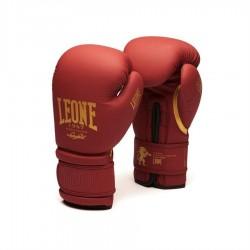 Luvas de boxe LEONE bordô GN059