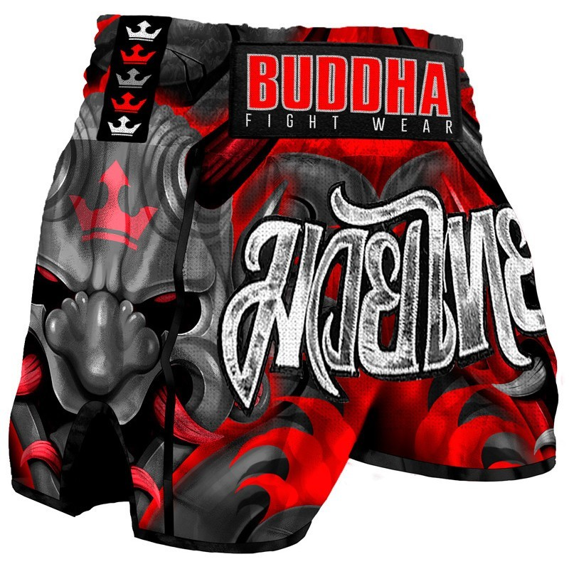 Shorts de Muay Thai Buda Retro Demônio