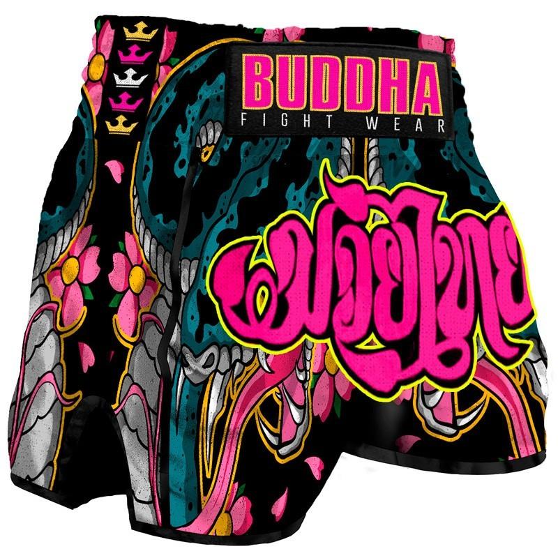 Shorts Muay Thai Buda Retro Cobra