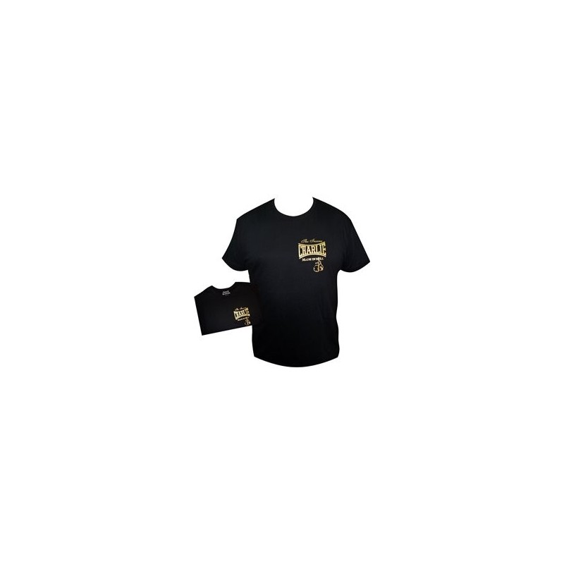 Camiseta feminina Charlie Gold