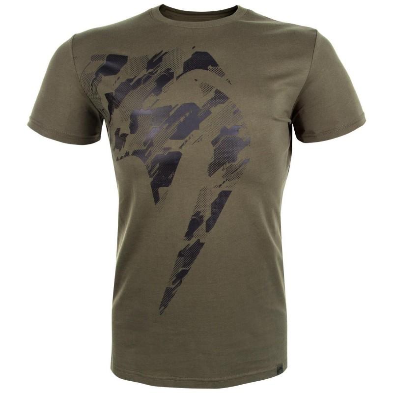 Camiseta cáqui gigante da Venum Tecmo