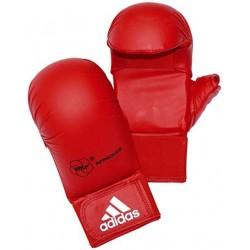 Luvas de caratê vermelhas Adidas