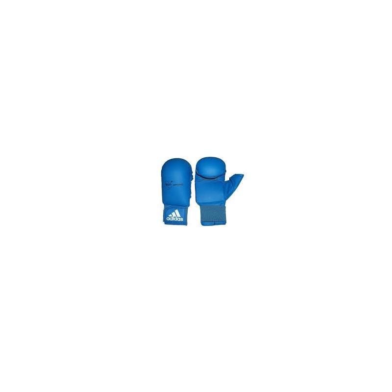 Luvas de karatê Adidas azuis